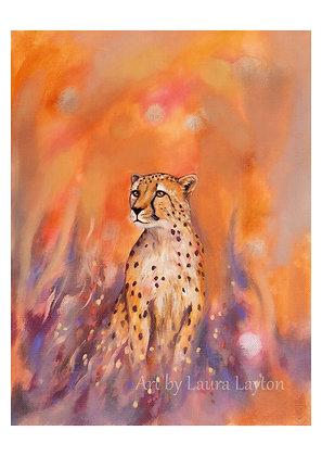 Big Cat #1 - Cheetah - Art Print
