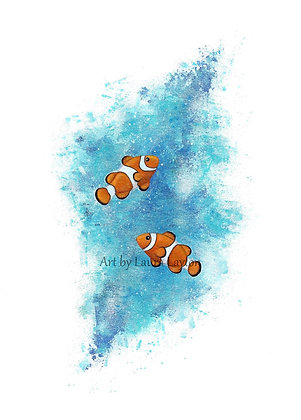 Clownfish - Art Print