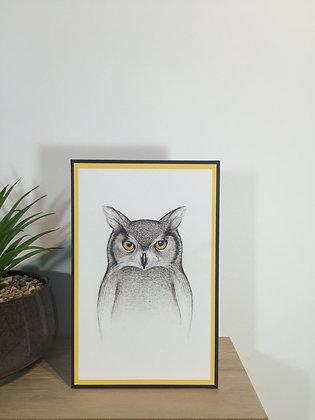 Attitude Owl Card