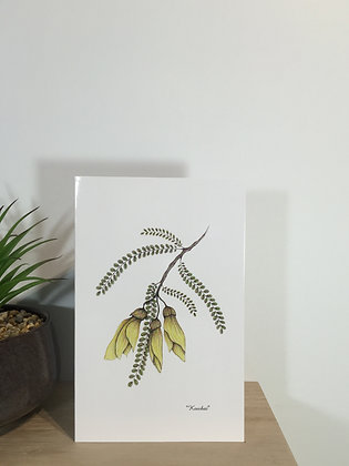 Kowhai Card