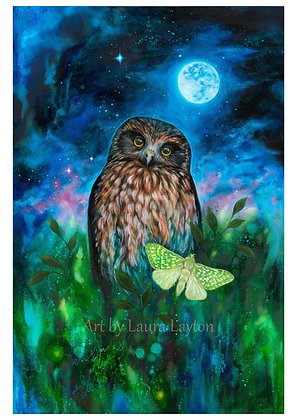 Moonlit - Art Print