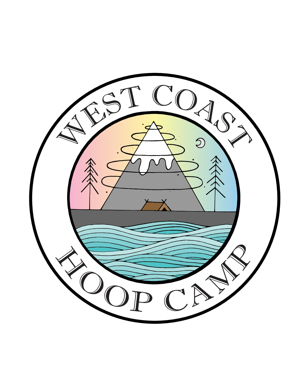 West Coast Hoop Camp Logo