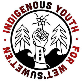 Indigenous Youth for We'tsuwet'un