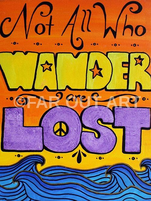 Wanderlost Poster