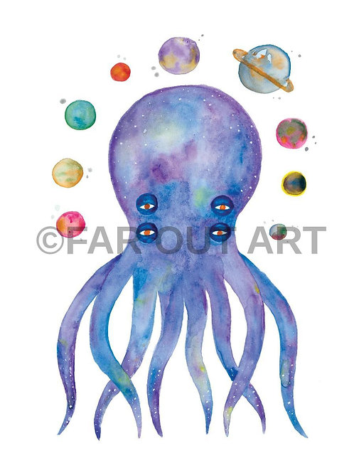 Spaced Out Squid