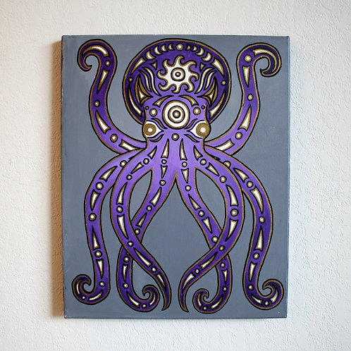 Coast Salish Octopus