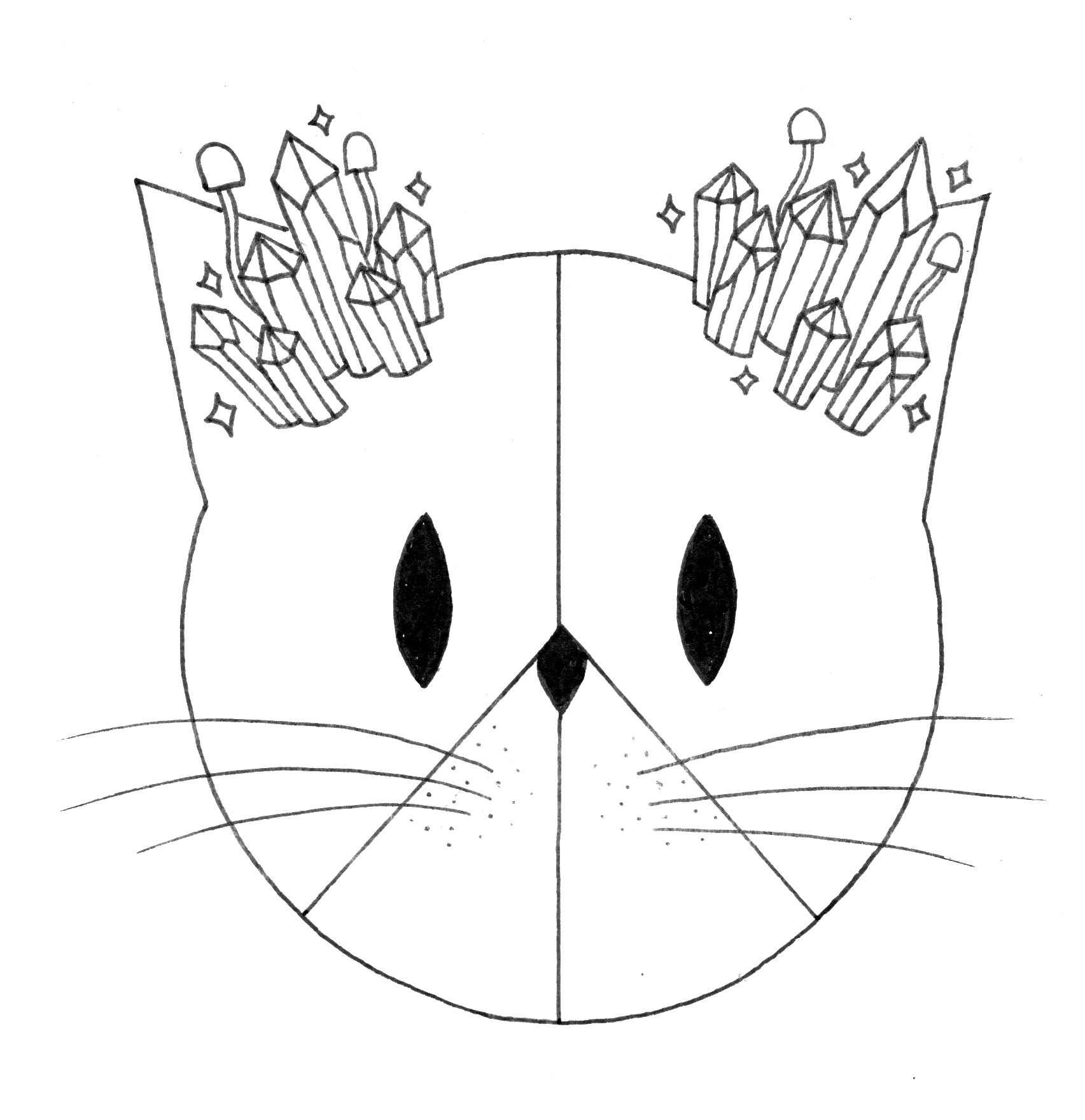 CatsMeowCrystals Logo