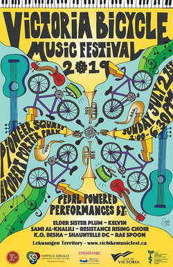 Victoria Bicycle Music Festival 2019