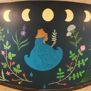 Saltwater Woman Mural