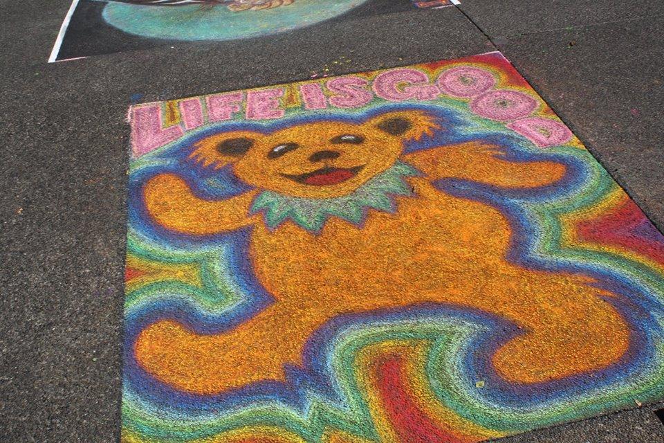 Chalk Art Festival 2014