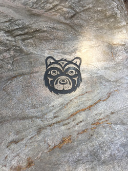 Petroglyph Bear