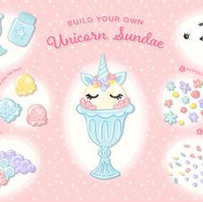 Unicorn Sundae Infographic