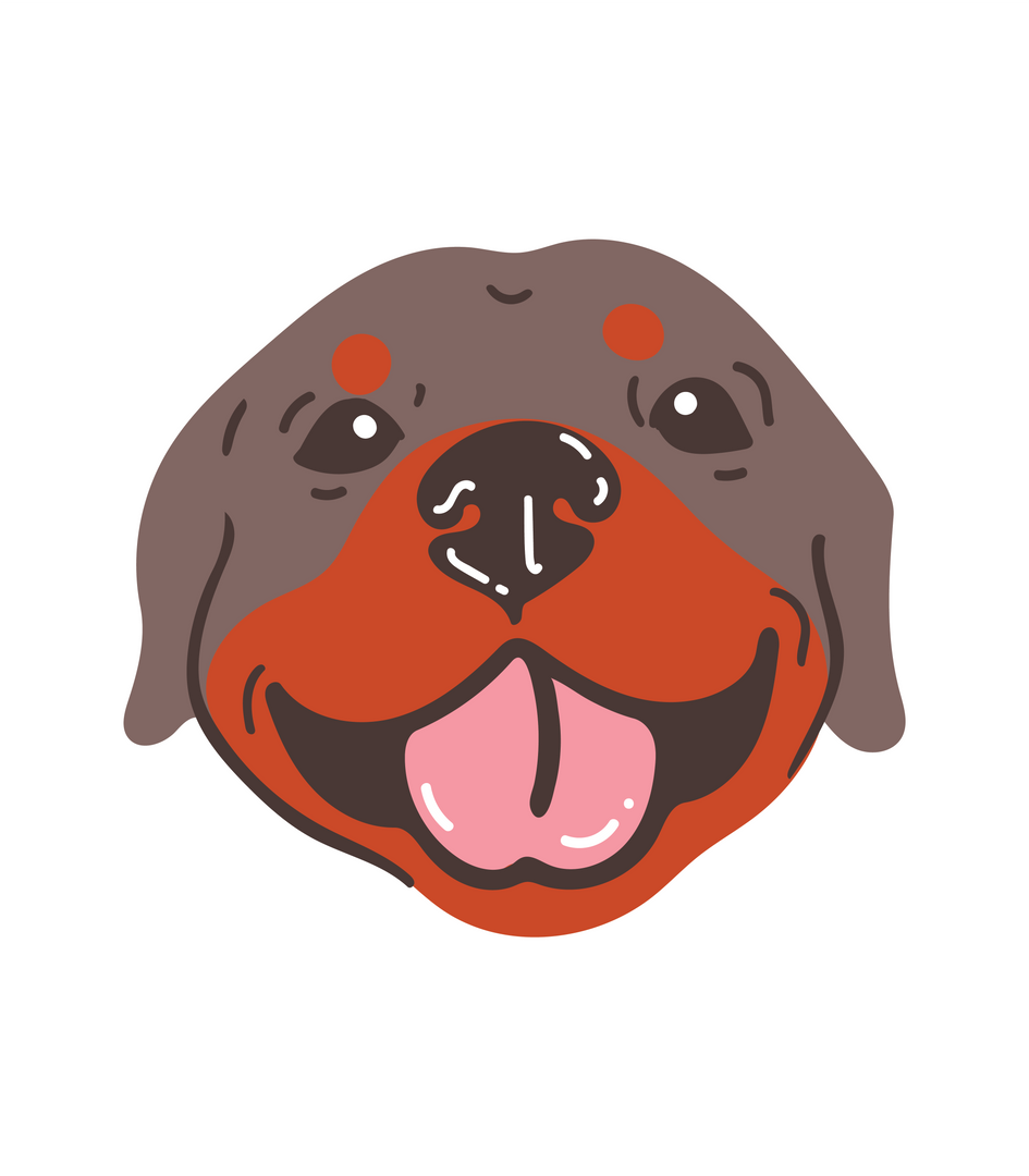 Rottweiler bubble long white.png