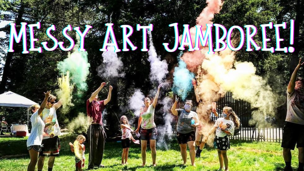 Messy Art Jamboree!