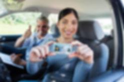 Woman-passes-Washington-drive-test-with-