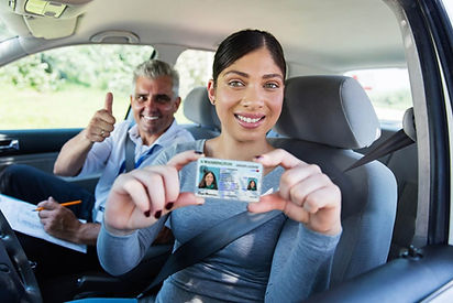 Woman-passes-Washington-drive-test-with-