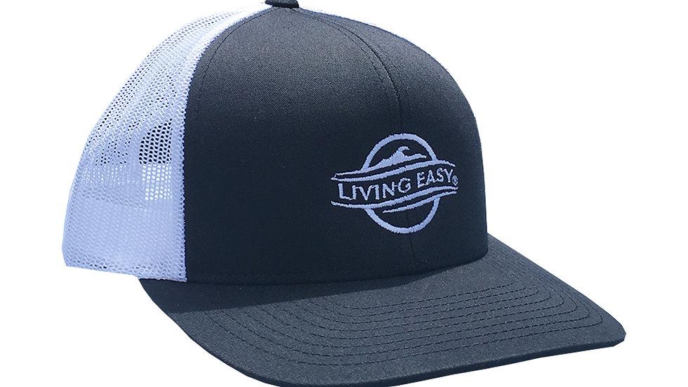 Logo Navy Mesh Hat