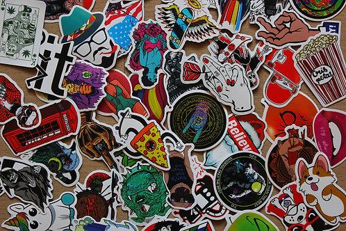 Skate Stickers (50pcs)