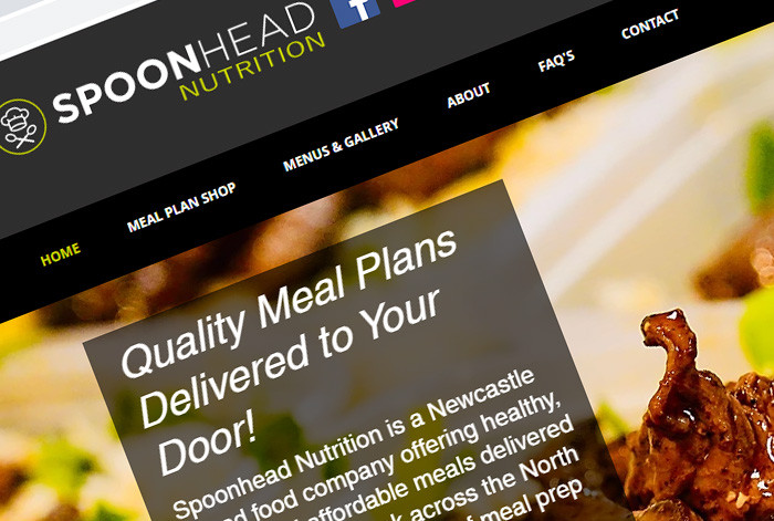 Spoonhead Nutrition Website