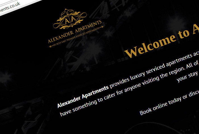 Alexander Apartments Website