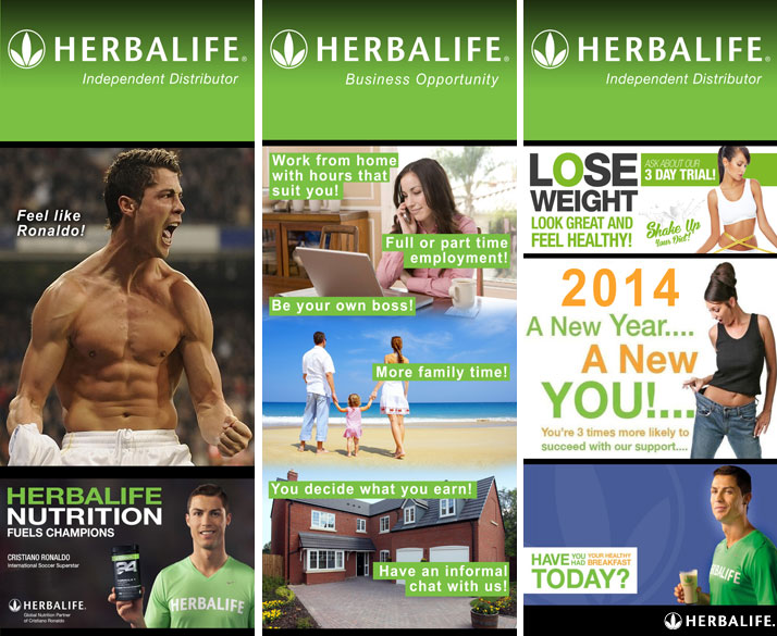 Herbalife Banners