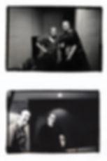 Matt Kent with Pete Townshend and Roger