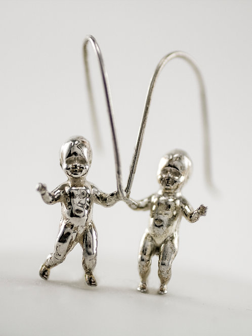 "The Original ""Whoa Baby"" Earrings - Sterling Silver"