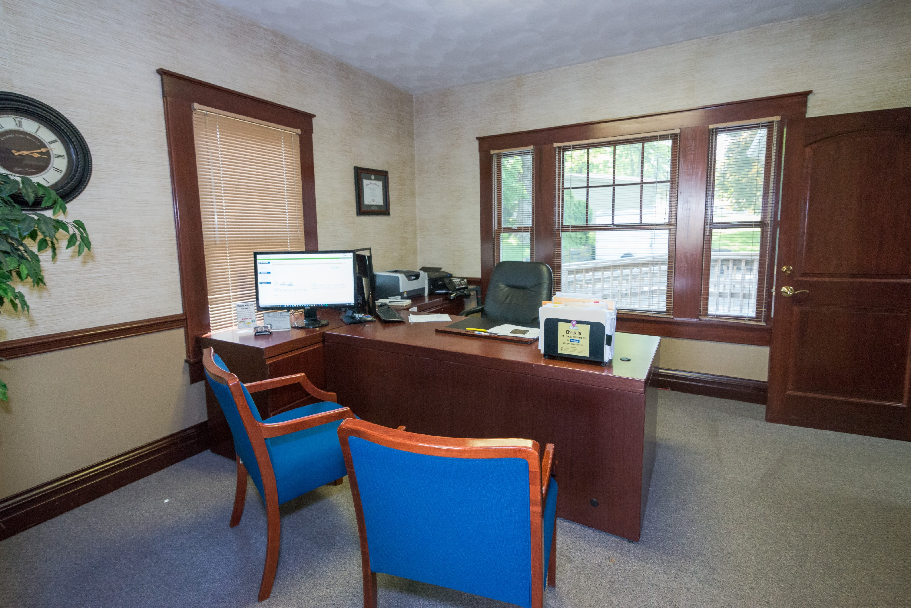 Trent Insurance Agent Office
