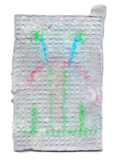 Handmade Paper with Pigment, 2019