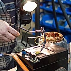 """Компания ООО """"МехЭнергоРемонт"""" осуществляет перемотку статора электродвигателей любой сложности."""