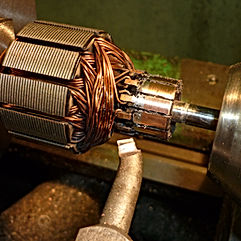 """Компания ООО """"МехЭнергоРемонт"""" осуществляет изготовление и ремонт коллекторов электродвигателей любой сложности."""
