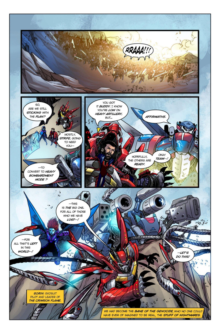 Chaotic Flux #1 page 3