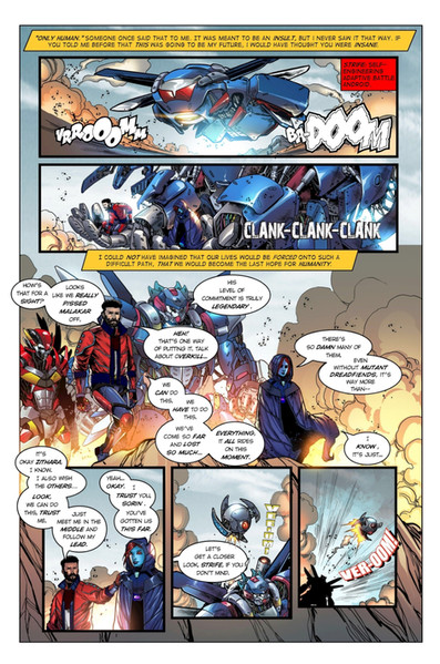 Chaotic Flux #1 page 2