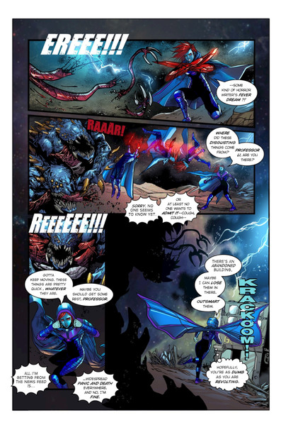 Chaotic Flux #1 page 6