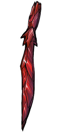 Chaotic Flux - Zithara crystal sword-arm blade