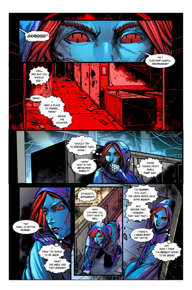 Chaotic Flux #1 page 8