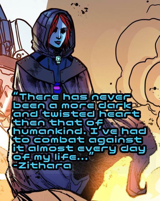 Chaotic Flux - Zithara quote #1