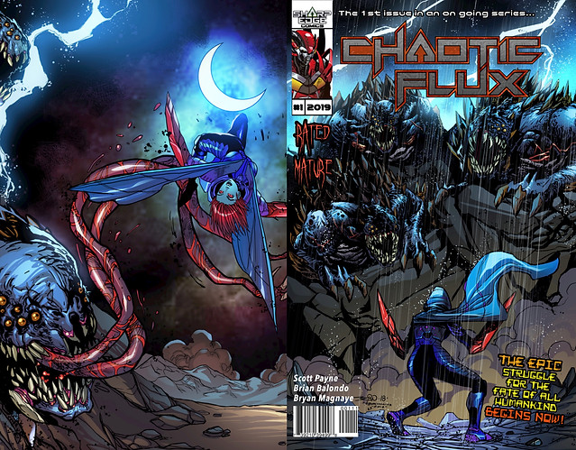 Chaotic Flux #1 cover front/back