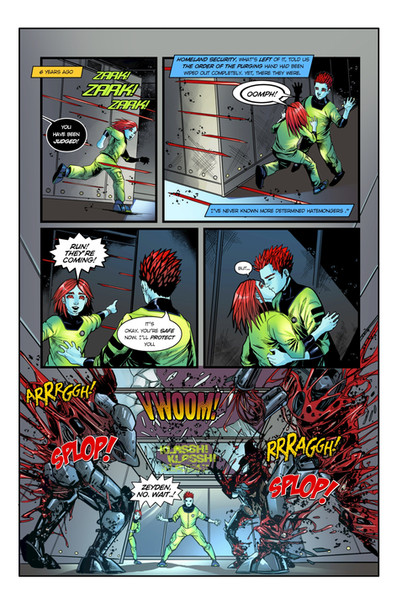 Chaotic Flux #1 page 10