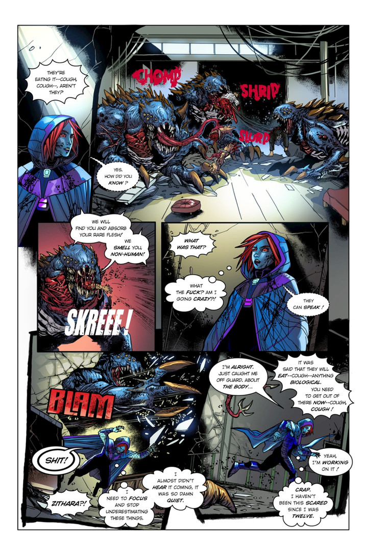 Chaotic Flux #1 page 9