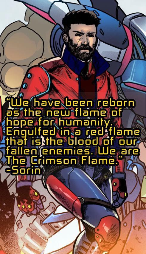 Chaotic Flux - Sorin quote #1