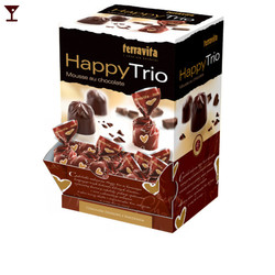 האפי טריו מוס שוקולד