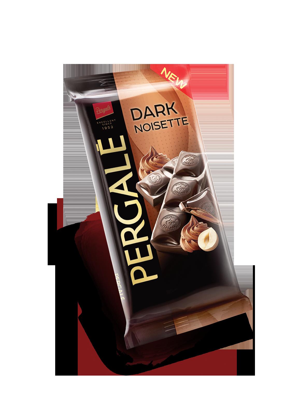 שוקולד מריר עם קרם אגוזים