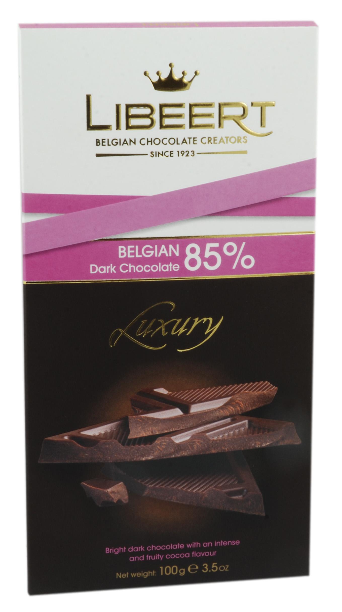 שוקולד מריר בלגי 85% קקאו