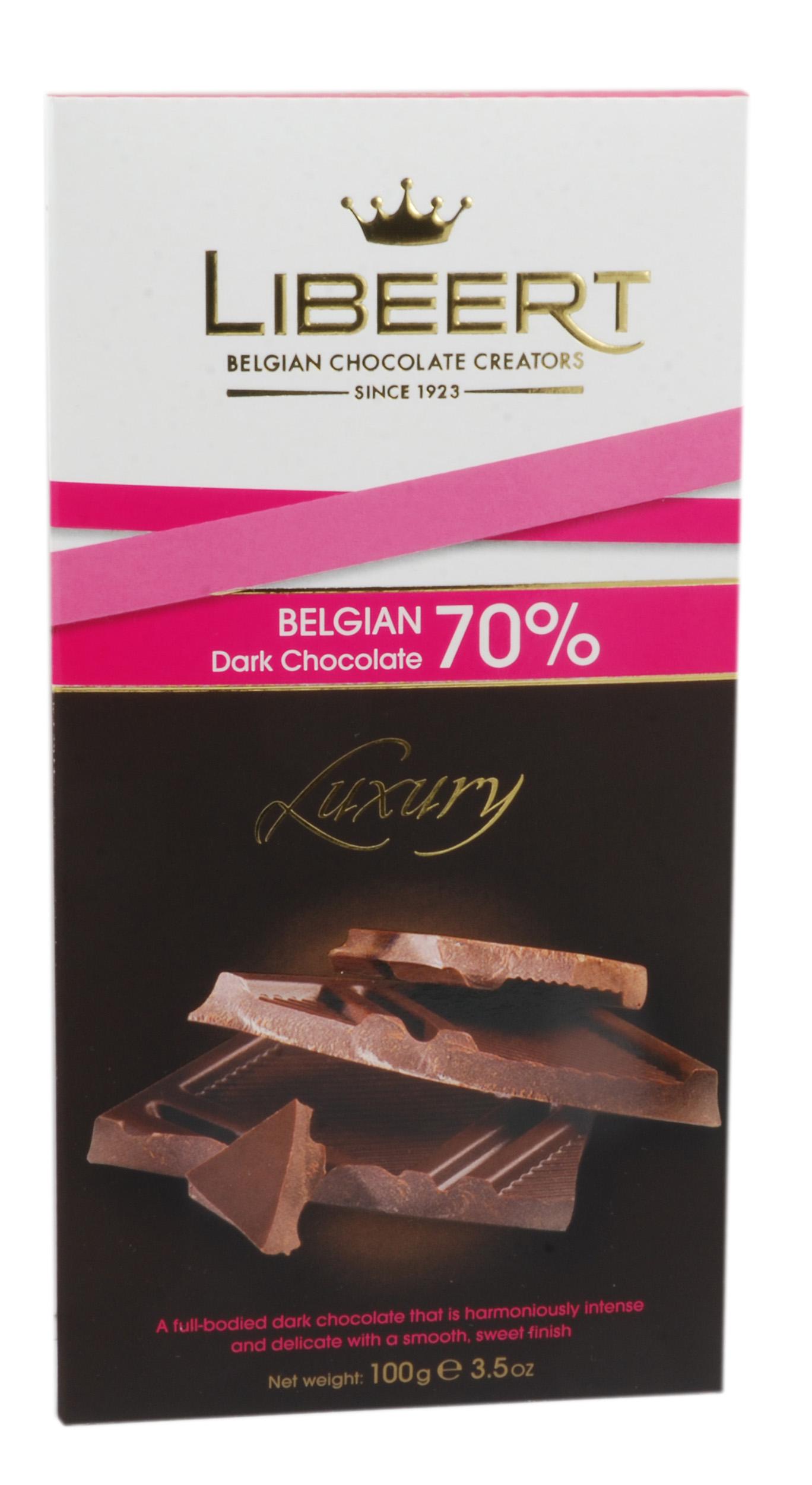 שוקולד מריר בלגי 70% קקאו