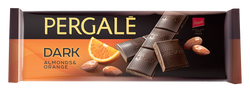 שוקולד מריר עם שקדים ותפוז