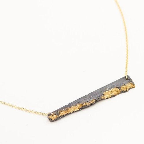 Concrete Fractured Bar Necklace