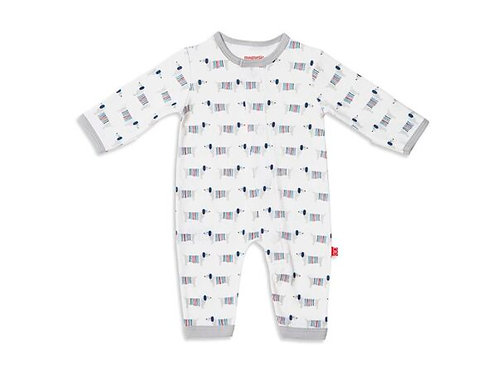 Magnetic Organic Cotton Coverall