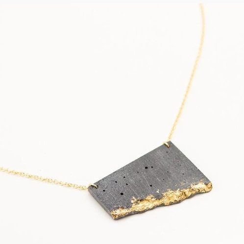 Concrete Fractured Necklace
