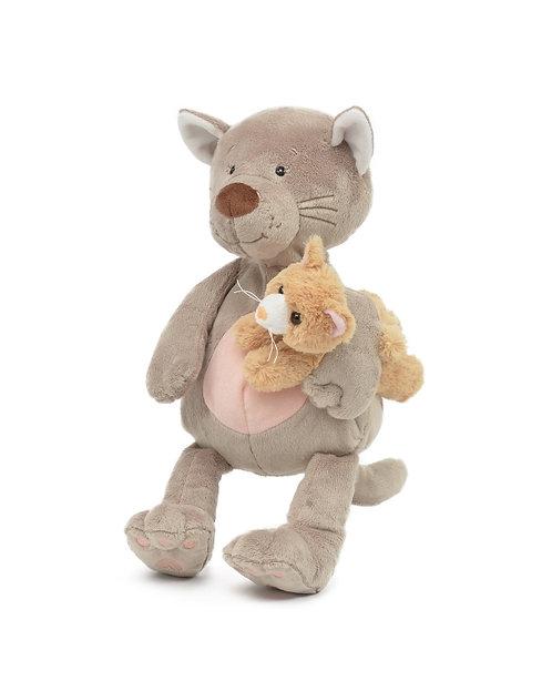 Patchies Cat w/ Baby